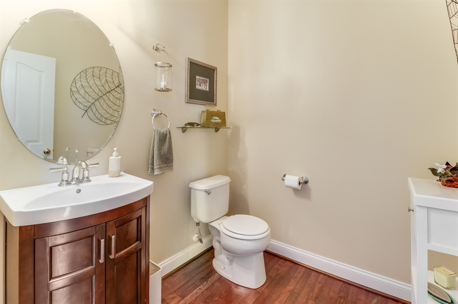 Real Estate Photography - 915 Benalli Dr, Middletown, DE, 19709 - Powder room on the main level