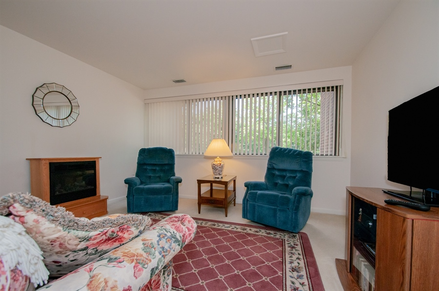 Real Estate Photography - 614 Loveville  Road #B1g, B1G, Hockessin, DE, 19707 - Second Bedroom Being Used As A TV/Reading Room