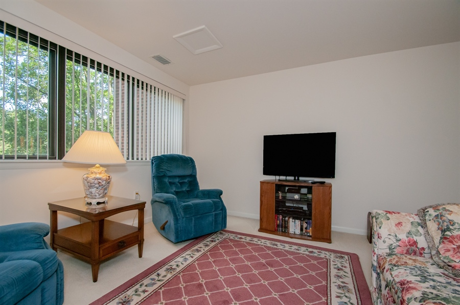 Real Estate Photography - 614 Loveville  Road #B1g, B1G, Hockessin, DE, 19707 - Another View Of The TV/Reading Area
