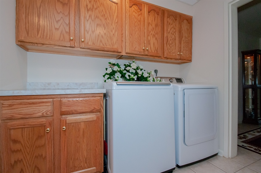 Real Estate Photography - 614 Loveville  Road #B1g, B1G, Hockessin, DE, 19707 - Laundry Area With Lots Of Cabinets!