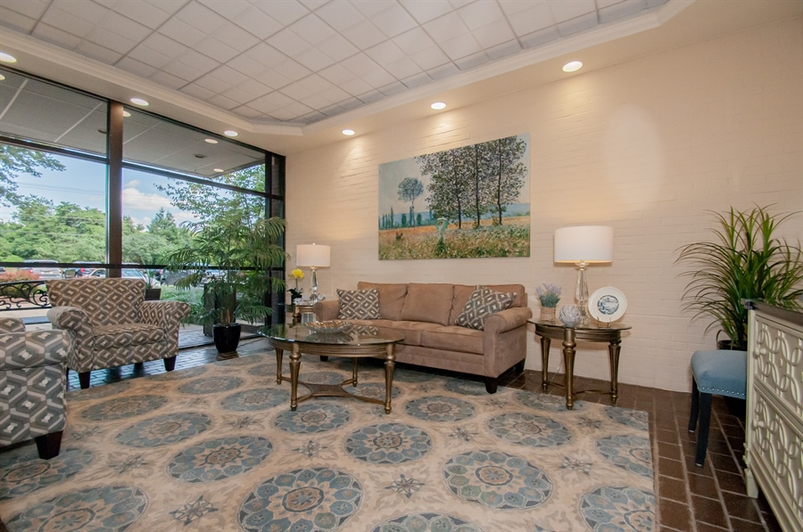 Real Estate Photography - 614 Loveville  Road #B1g, B1G, Hockessin, DE, 19707 - Meet With Neighbors In The Building's Lobby