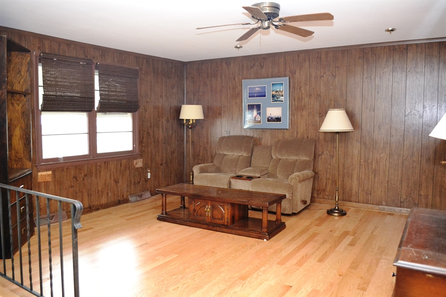 Real Estate Photography - 27 Skyline Dr, New Castle, DE, 19720 - Living Room with Hardwood Floor