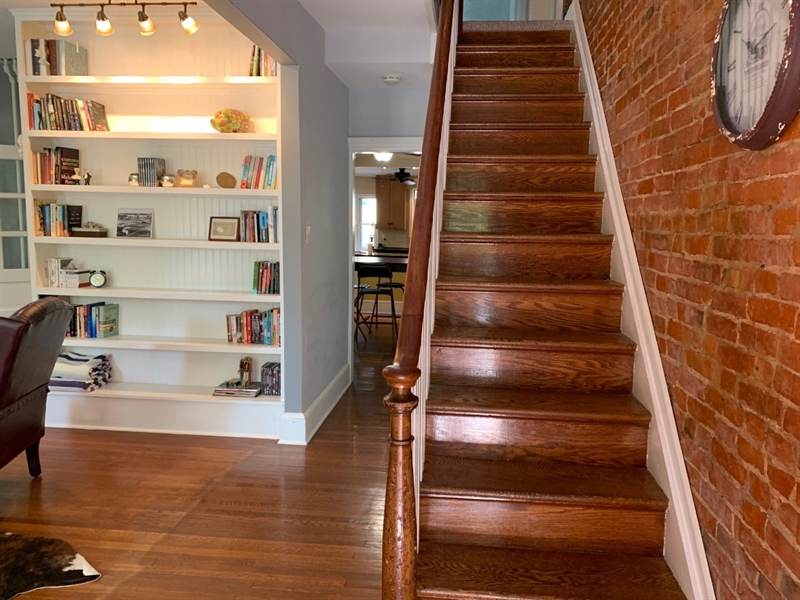 Real Estate Photography - 1701 N Rodney St, Wilmington, DE, 19806 - Foyer open into Living Room