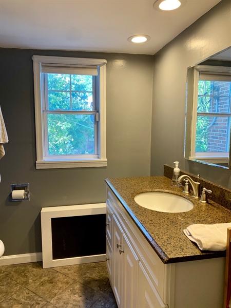 Real Estate Photography - 1701 N Rodney St, Wilmington, DE, 19806 - Updated Bathroom