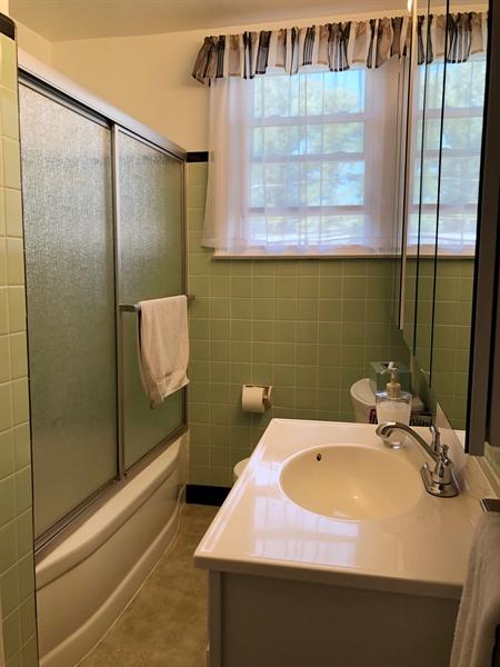 Real Estate Photography - 218 Cleveland  Avenue, Wilmington, DE, 19805 - Hall bathroom