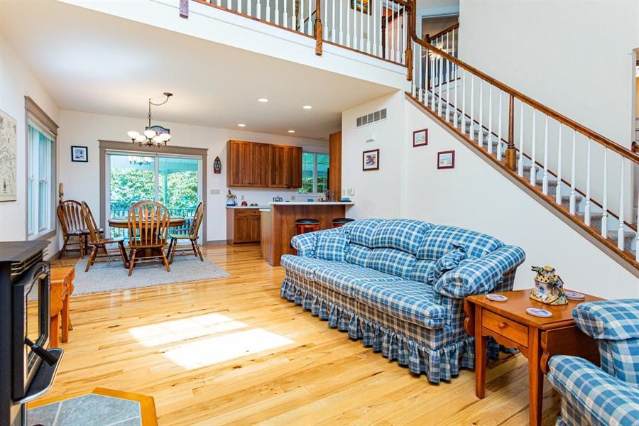Real Estate Photography - 302 Cecil Avenue, Earleville, DE, 21919 - large open concept living