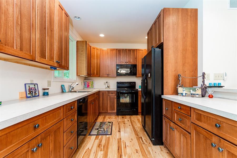 Real Estate Photography - 302 Cecil Avenue, Earleville, DE, 21919 - spacious galley kitchen
