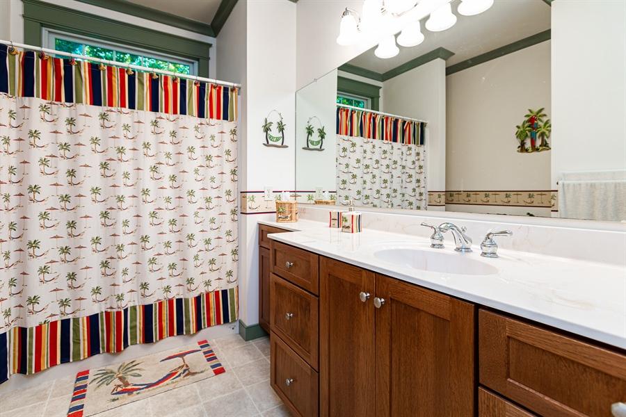 Real Estate Photography - 302 Cecil Avenue, Earleville, DE, 21919 - spacious first floor bathroom