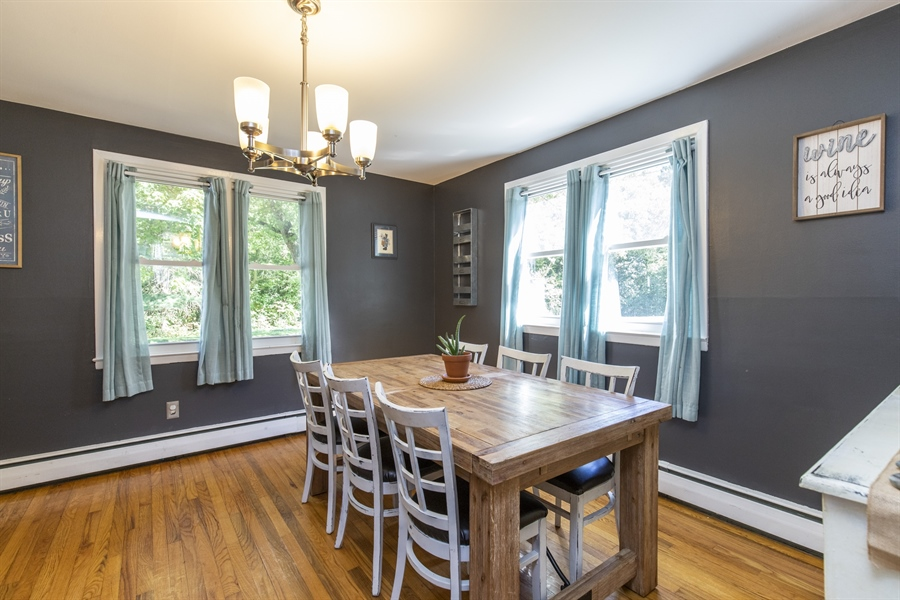Real Estate Photography - 421 Goodley Rd, Wilmington, DE, 19803 - Dining room 2