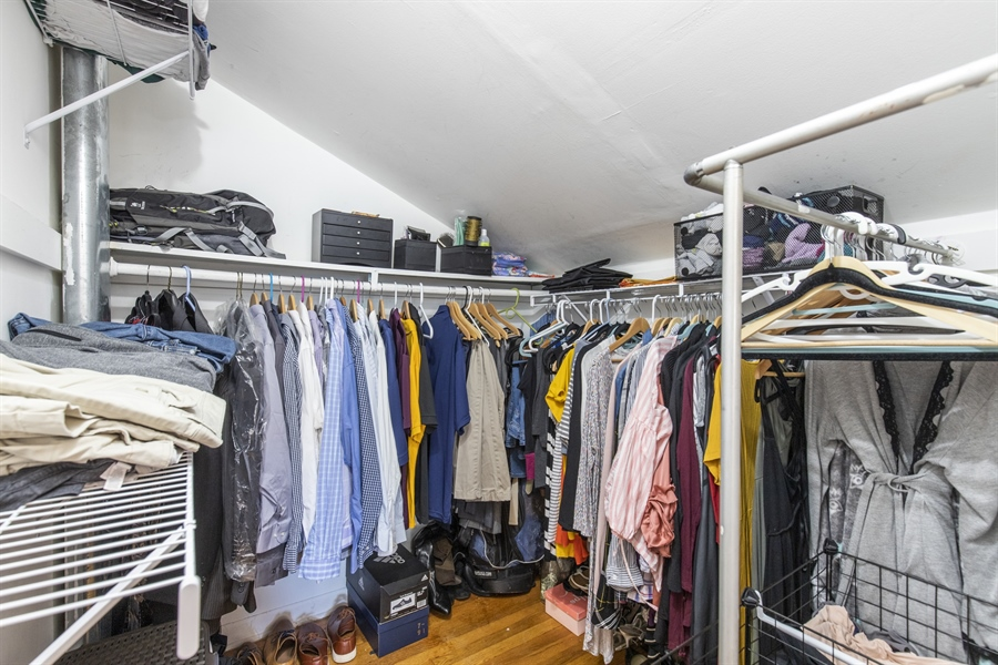 Real Estate Photography - 421 Goodley Rd, Wilmington, DE, 19803 - Master bedroom walk-in closet