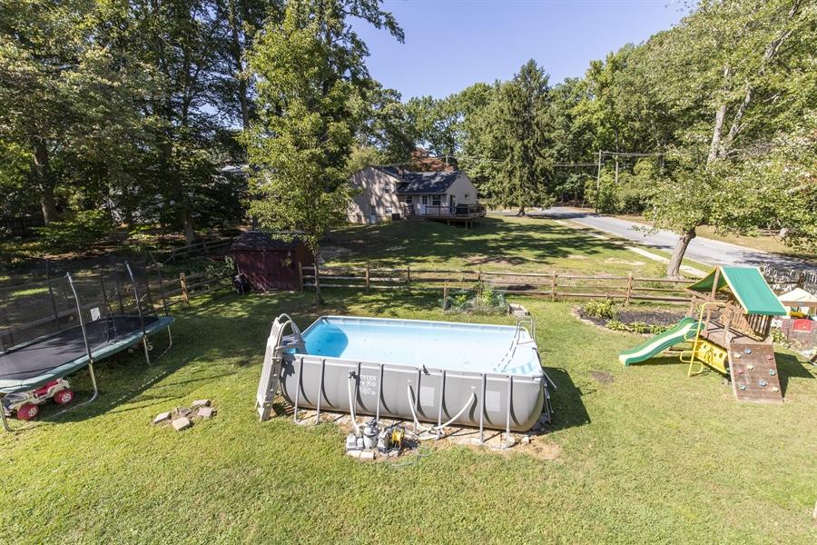 Real Estate Photography - 421 Goodley Rd, Wilmington, DE, 19803 - Backyard