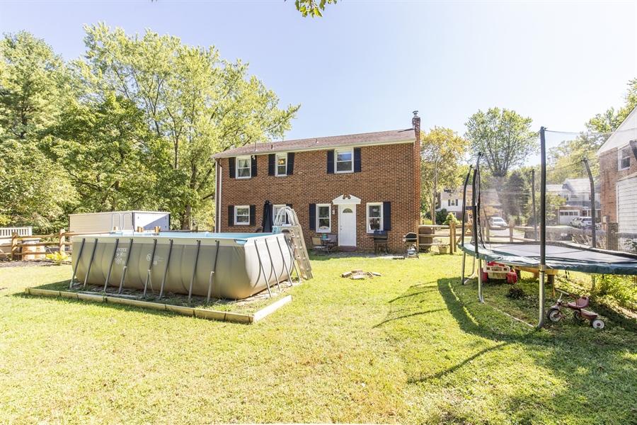 Real Estate Photography - 421 Goodley Rd, Wilmington, DE, 19803 - Backyard view #2