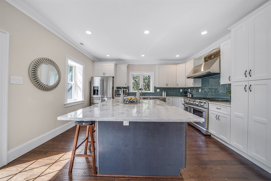 Real Estate Photography - 1426 E Strasburg Rd, West Chester, PA, 19380 - Custom Cabinetry