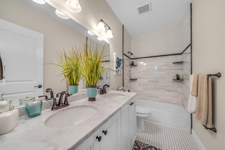 Real Estate Photography - 1426 E Strasburg Rd, West Chester, PA, 19380 - Large Hall Bath