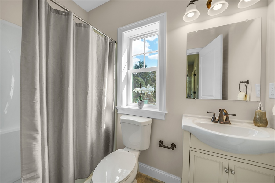 Real Estate Photography - 1426 E Strasburg Rd, West Chester, PA, 19380 - 3rd Full Bath.