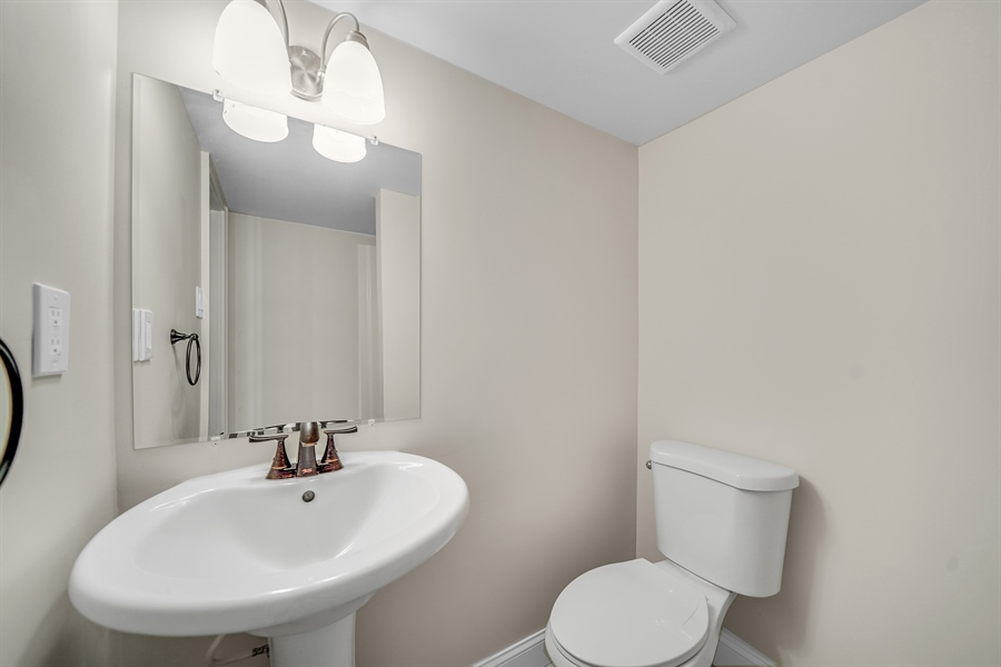 Real Estate Photography - 1426 E Strasburg Rd, West Chester, PA, 19380 - 4th Full Bath in Finished Lower Level.