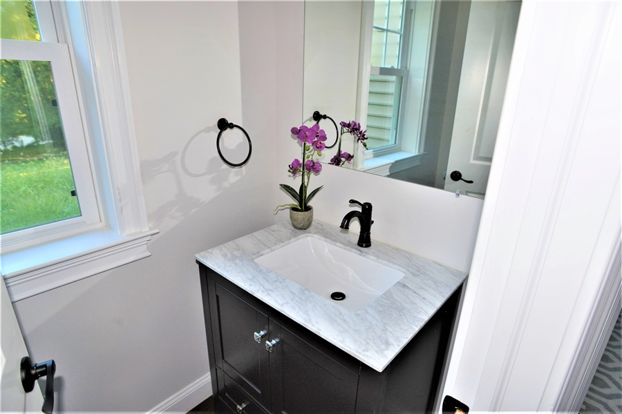 Real Estate Photography - 1426 E Strasburg Rd, West Chester, PA, 19380 - 1 of 2 Powder Rooms