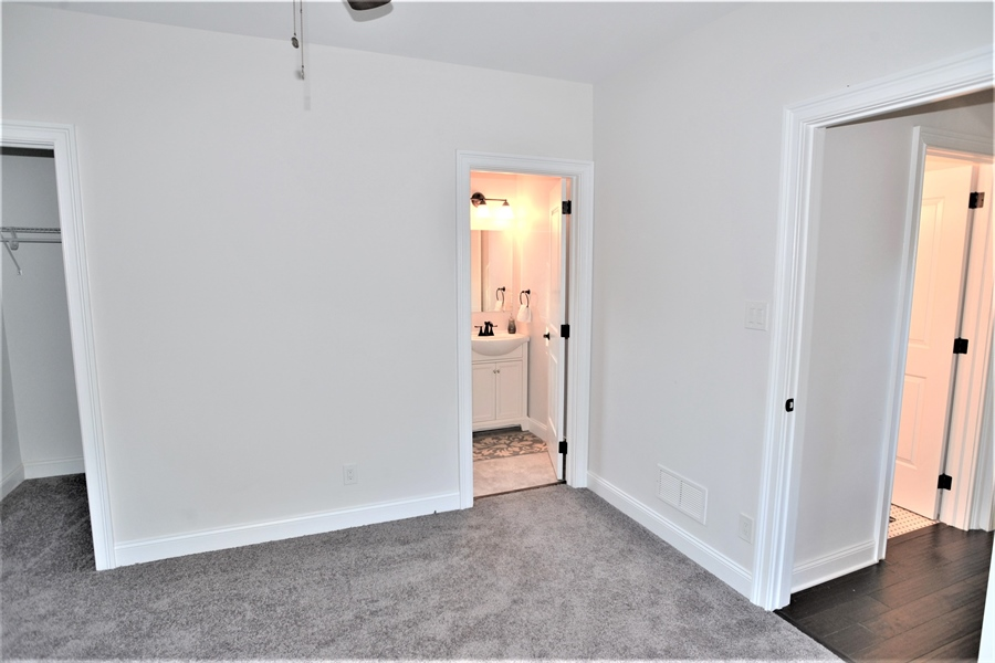 Real Estate Photography - 1426 E Strasburg Rd, West Chester, PA, 19380 - 2nd Bedroom w/En Suite Full Bath & Walk In Closet