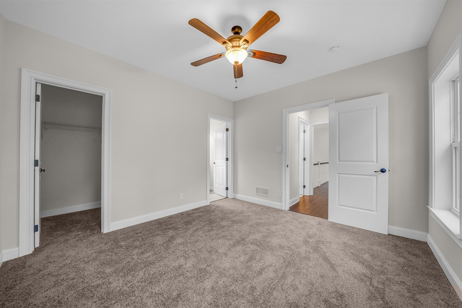 Real Estate Photography - 1426 E Strasburg Rd, West Chester, PA, 19380 - All Bedrooms w/ Ceiling Fans