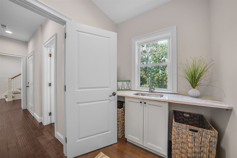 Real Estate Photography - 1426 E Strasburg Rd, West Chester, PA, 19380 - Large Laundry