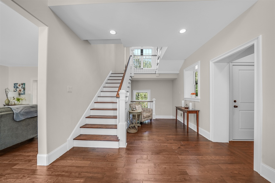 Real Estate Photography - 1426 E Strasburg Rd, West Chester, PA, 19380 - Large Foyer