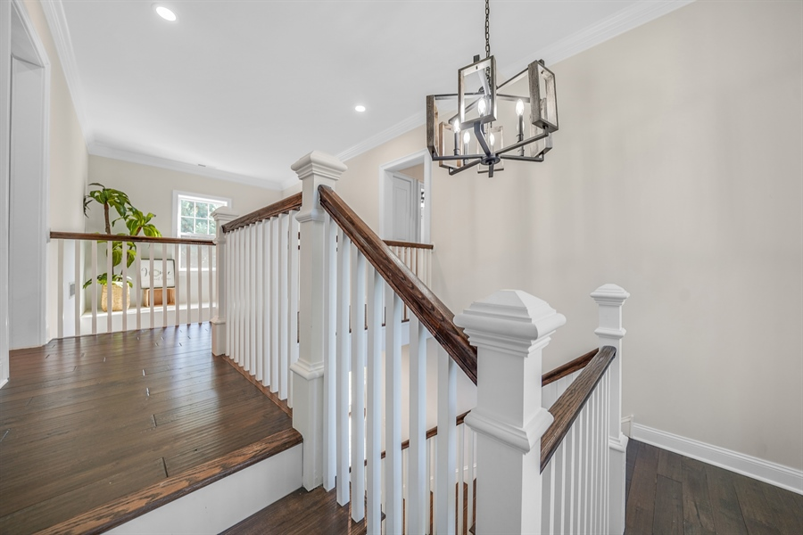 Real Estate Photography - 1426 E Strasburg Rd, West Chester, PA, 19380 - 2nd Floor Landing