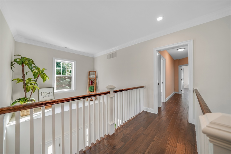 Real Estate Photography - 1426 E Strasburg Rd, West Chester, PA, 19380 - 2nd Floor Catwalk