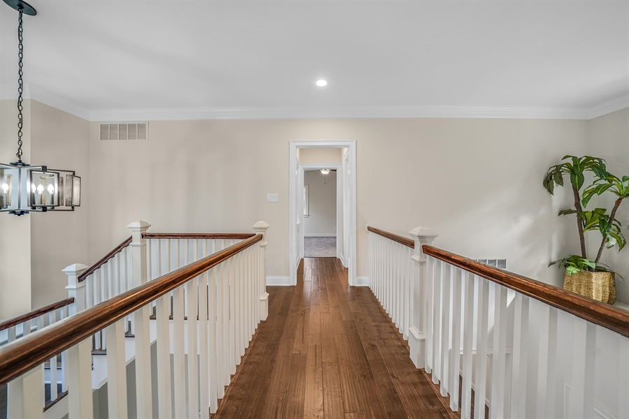 Real Estate Photography - 1426 E Strasburg Rd, West Chester, PA, 19380 - Beautiful Wood Work Throughout.