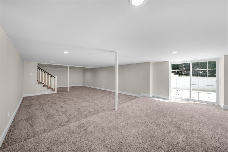 Real Estate Photography - 1426 E Strasburg Rd, West Chester, PA, 19380 - Walk Out Basement w/Full Bath