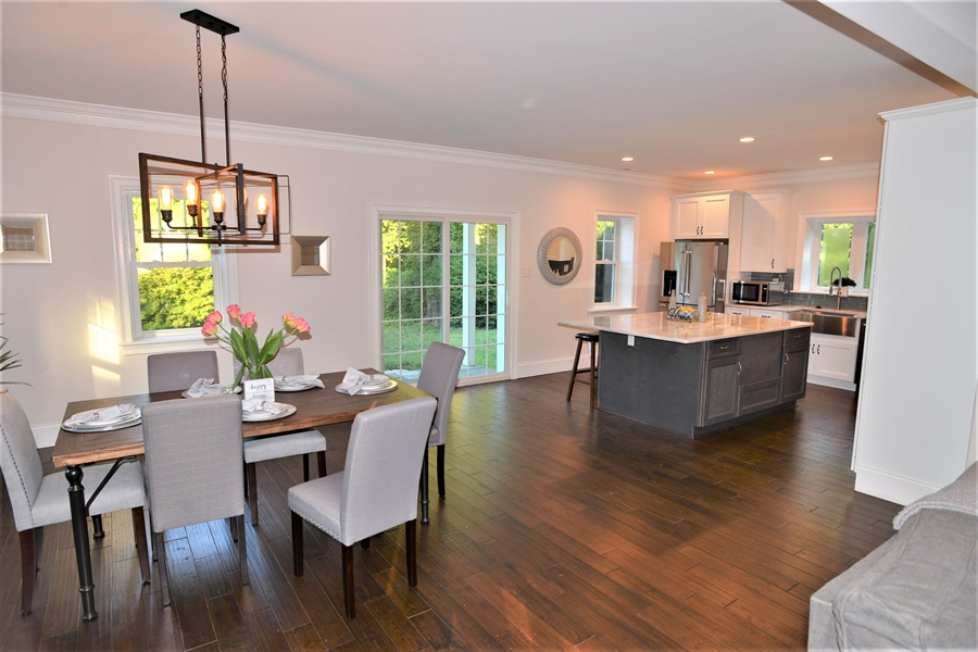 Real Estate Photography - 1426 E Strasburg Rd, West Chester, PA, 19380 - Dining/Kitch Open FloorPlan Great for Entertaining