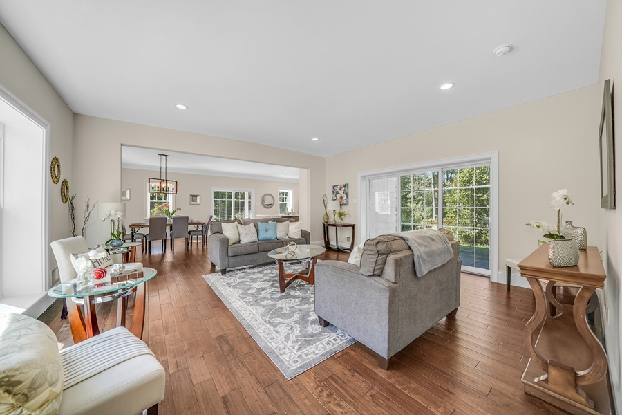 Real Estate Photography - 1426 E Strasburg Rd, West Chester, PA, 19380 - Recessed Lighting Throughout.