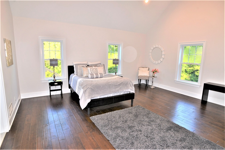 Real Estate Photography - 1426 E Strasburg Rd, West Chester, PA, 19380 - Very Large Master Bedroom with Hardwoods.