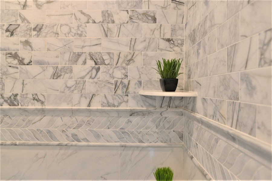 Real Estate Photography - 1426 E Strasburg Rd, West Chester, PA, 19380 - Custome Tile Work in ALL Baths