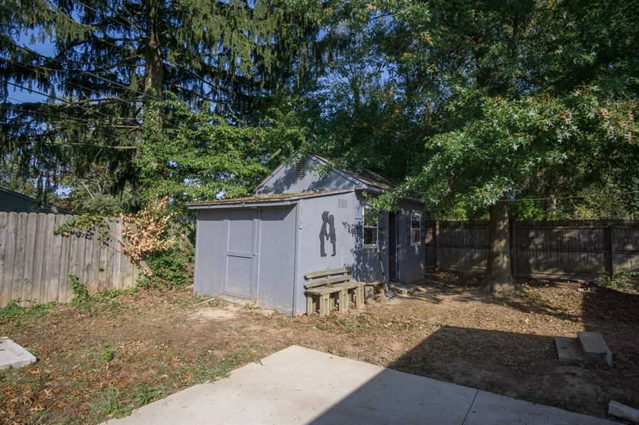 Real Estate Photography - 3 Curry Ln, Newark, DE, 19713 - Shed