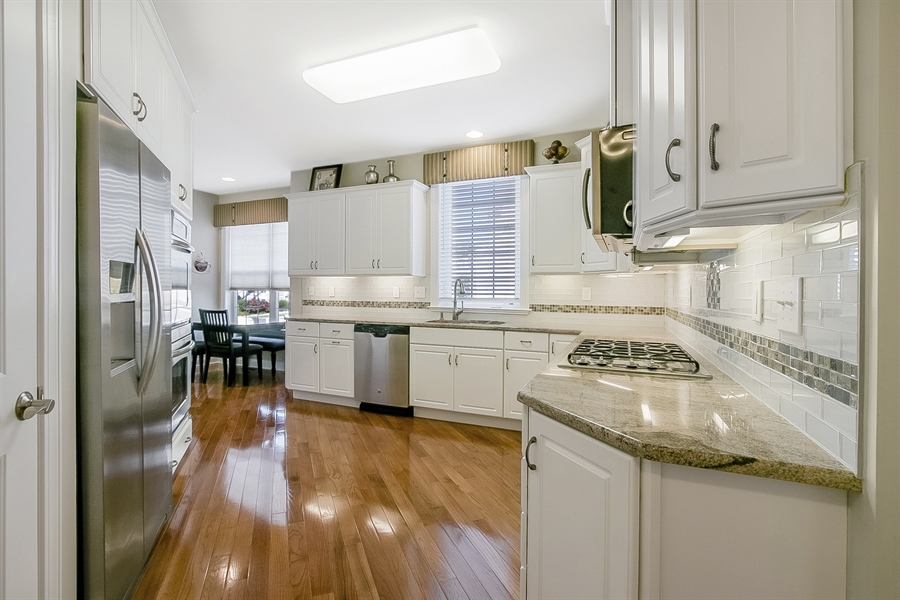 Real Estate Photography - 314 Cassell Ct, Wilmington, DE, 19803 - Upgraded Kitchen