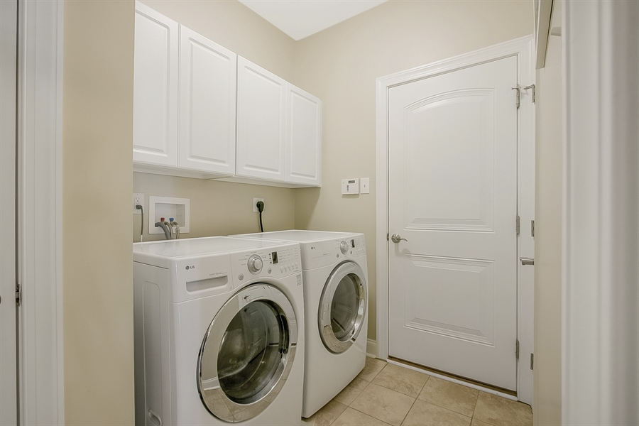 Real Estate Photography - 314 Cassell Ct, Wilmington, DE, 19803 - 1st floor Laundry; access to Garages