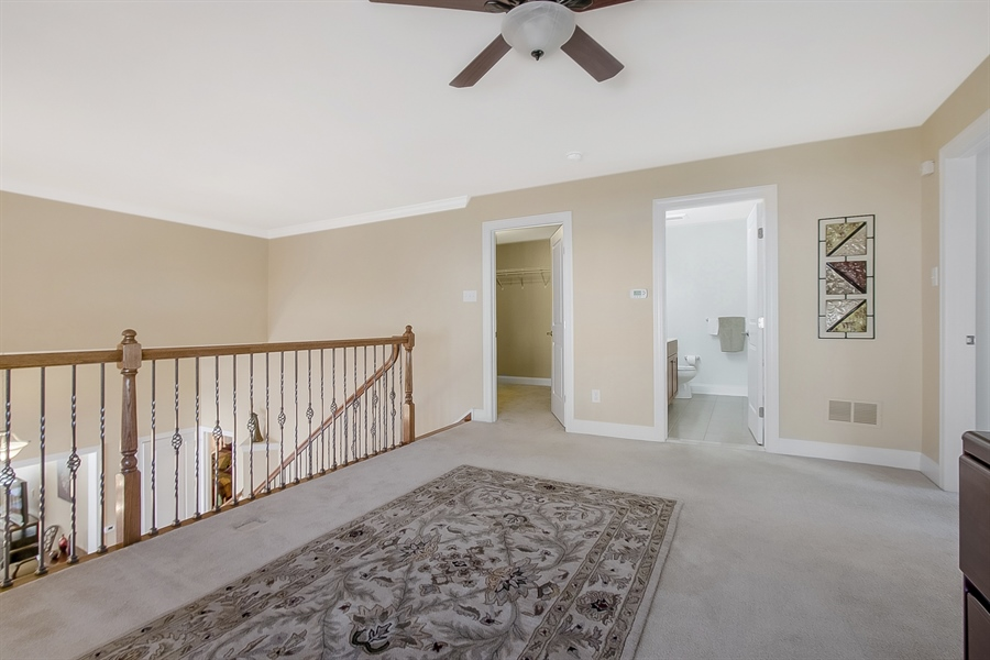 Real Estate Photography - 314 Cassell Ct, Wilmington, DE, 19803 - Large walk-in storage closet off Loft