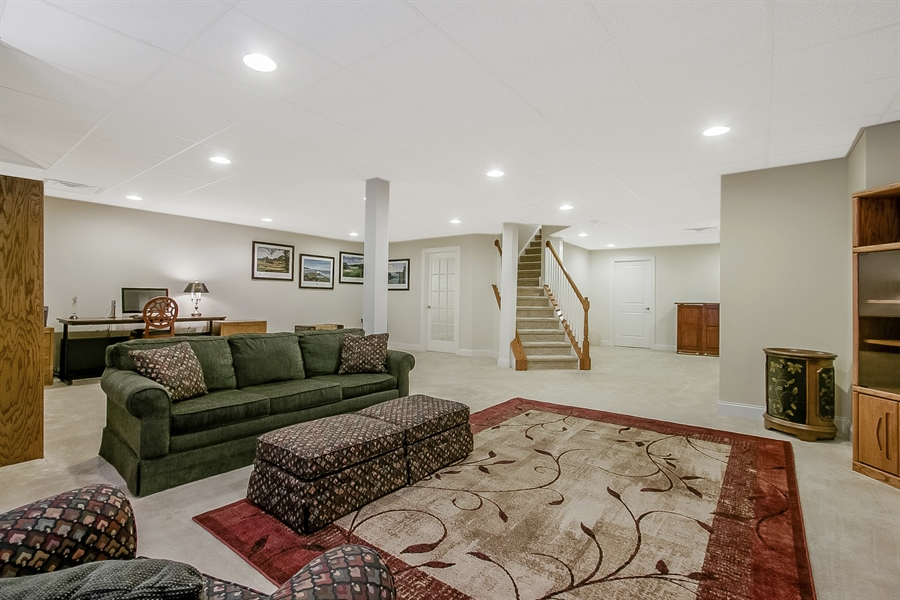 Real Estate Photography - 314 Cassell Ct, Wilmington, DE, 19803 - Finished Lower Level