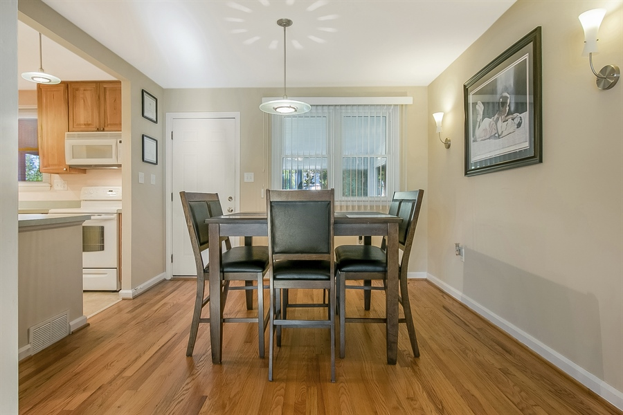 Real Estate Photography - 1113 Wilson Rd, Wilmington, DE, 19803 - Bright Dining Room