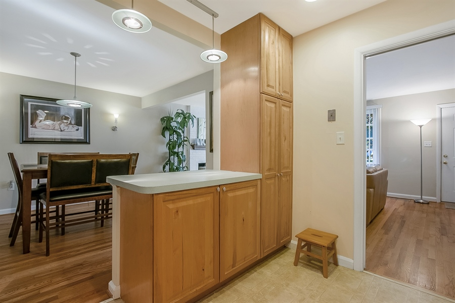 Real Estate Photography - 1113 Wilson Rd, Wilmington, DE, 19803 - Kitchen has tons of storage.