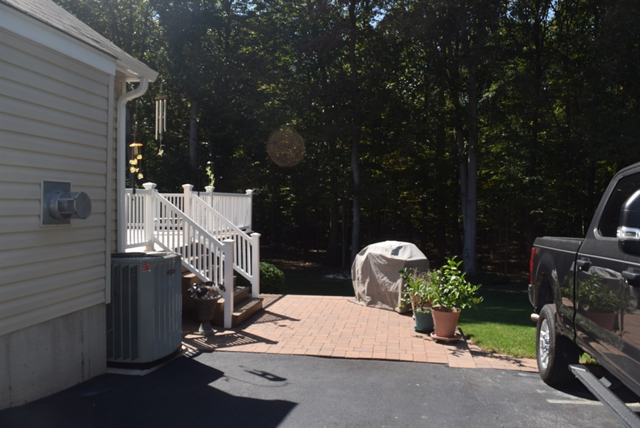 Real Estate Photography - 109 Nashua Ct, Bear, DE, 19701 - Paver Patio for Bar B Que