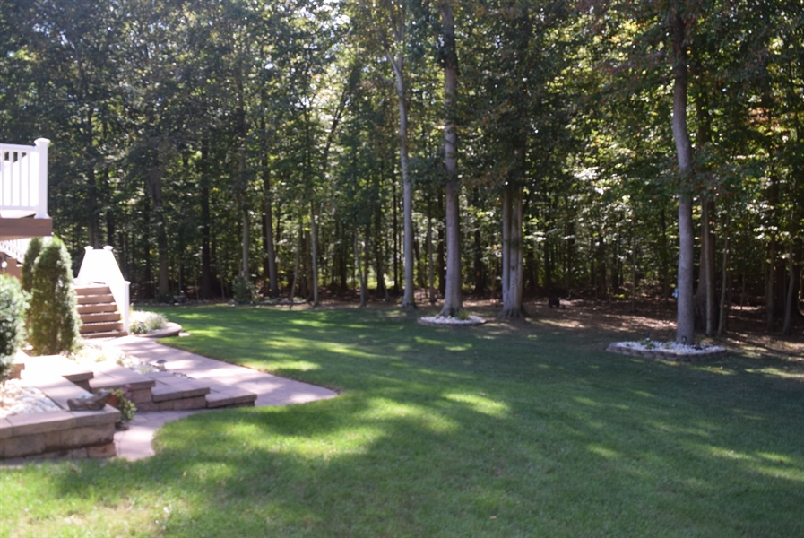 Real Estate Photography - 109 Nashua Ct, Bear, DE, 19701 - Private Wooded lot