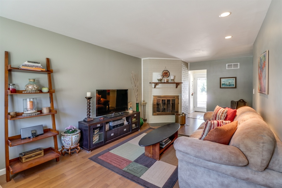 Real Estate Photography - 16 Yellow Pine Ct, Wilmington, DE, 19808 - Family Room w/Fireplace