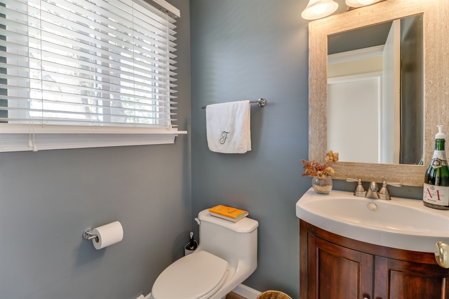 Real Estate Photography - 16 Yellow Pine Ct, Wilmington, DE, 19808 - Powder Room