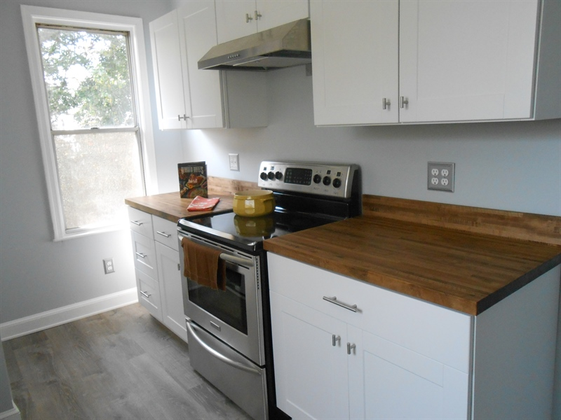Real Estate Photography - 1706 Walnut Street Street, Wilimington, DE, 19809 - Kitchen Has Plenty Of Counter Space