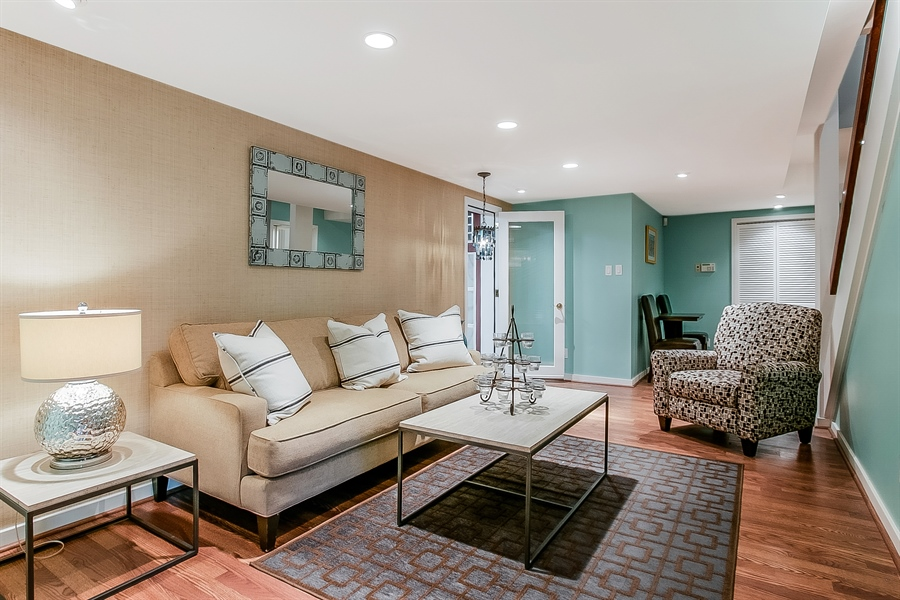 Real Estate Photography - 102 S Kildonan Gln, Wilmington, DE, 19807 - Lower Level Family Room