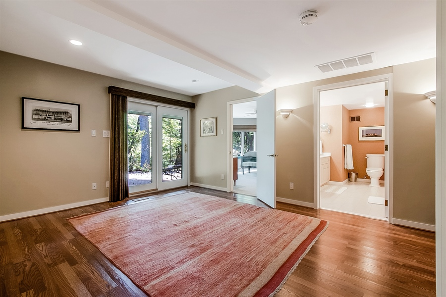 Real Estate Photography - 102 S Kildonan Gln, Wilmington, DE, 19807 - Lower Level Master Suite has Separate Den