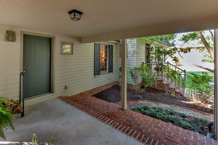 Real Estate Photography - 118 Chandler Ave, Wilmington, DE, 19807 - Breezeway to Mudroom from Garage