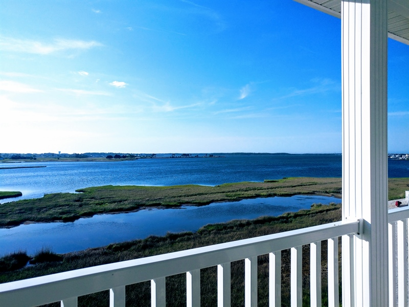 Real Estate Photography - 39035 Beacon Drive #5, 5, Fenwick Island, DE, 19944 - Striking Views Of Little Assawoman Bay!
