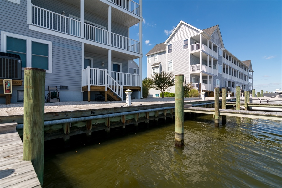 Real Estate Photography - 39035 Beacon Drive #5, 5, Fenwick Island, DE, 19944 - Deeded Boat Slip Conveys with sale